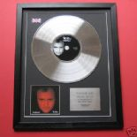 PHIL COLLINS - No Jacket Required CD / PLATINUM LP DISC
